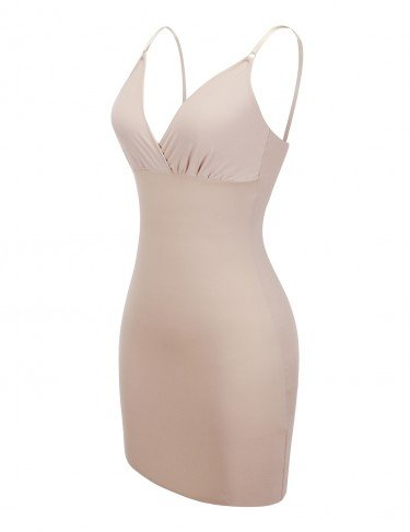 Full body seamless shaper in nude 4