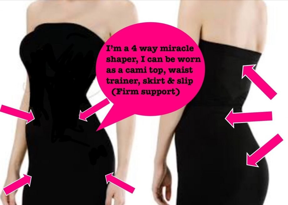Miracle Shapers 4 way firm control slip