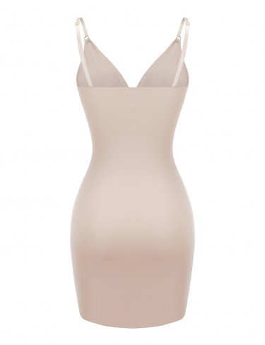 Full body seamless shaper in nude 2